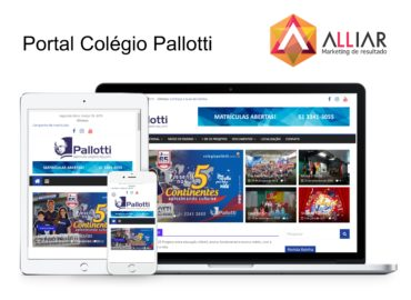 site responsivo colegio pallotti