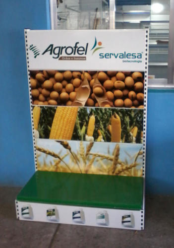 Sinalização Gôndola Agrofel